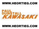 Paul Dunstall Kawasaki Tank Transfer Decal D20084H-5